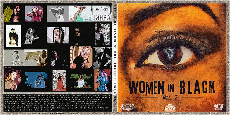 Fuori WOMEN IN BLACK Vol. 2, la raccolta delle voci femminili italiane della black music