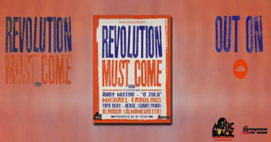 "FUORI ""REVOLUTION MUST COME RIDDIM"" DI DJ SPIKE & MUSIC IN BLACK"
