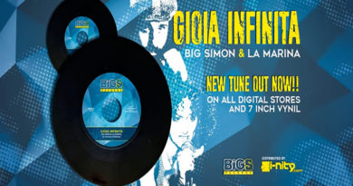 'GIOIA INFINITA' – NUOVO SINGOLO DI BIG SIMON & LA MARINA CHE OMAGGIA LA MUSICA